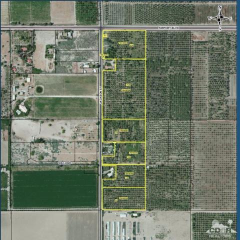 4-acres E Jackson & S Airport, Thermal, CA 92274 (MLS #218014292) :: Deirdre Coit and Associates