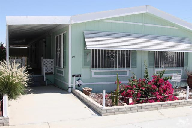 46618 Madison Street #49, Indio, CA 92201 (MLS #218016988) :: Brad Schmett Real Estate Group