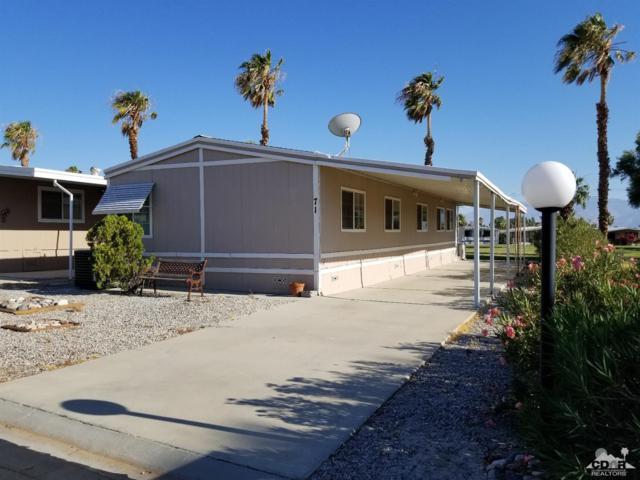 15500 Bubbling Wells Road #71, Desert Hot Springs, CA 92240 (MLS #218019198) :: Team Wasserman