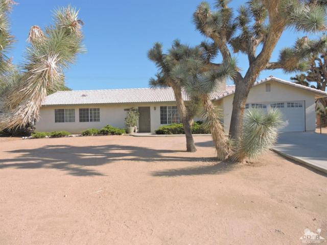 57805 El Dorado Drive, Yucca Valley, CA 92284 (MLS #218019256) :: The John Jay Group - Bennion Deville Homes
