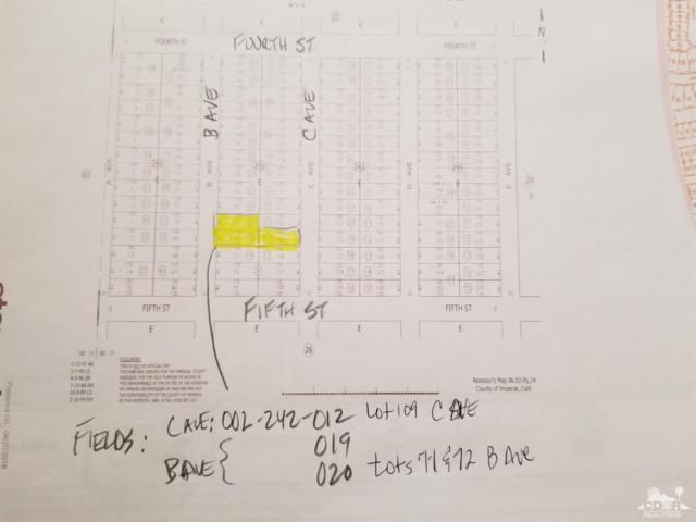 0-LOT 109 C Avenue, Bombay Beach, CA 92257 (MLS #218021858) :: Team Wasserman