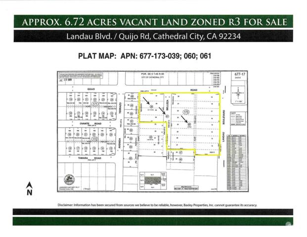 0 Landau, Cathedral City, CA 92234 (MLS #218023790) :: The John Jay Group - Bennion Deville Homes