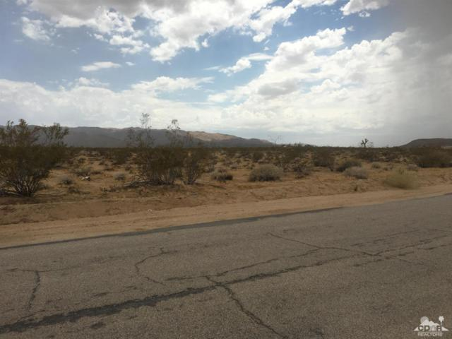 0 4th Street, Joshua Tree, CA 92252 (MLS #218024030) :: The John Jay Group - Bennion Deville Homes