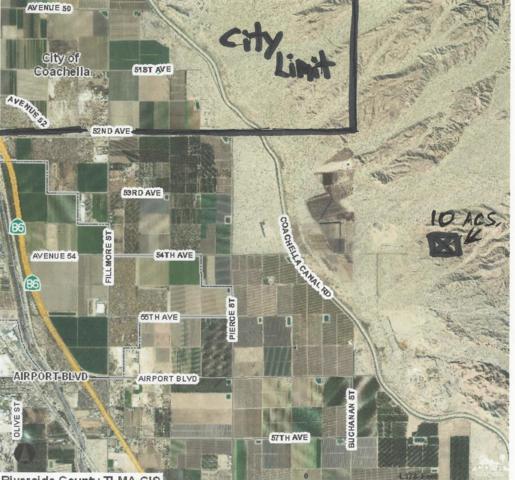 10 Acres Land, Coachella, CA 92236 (MLS #218026090) :: Hacienda Group Inc