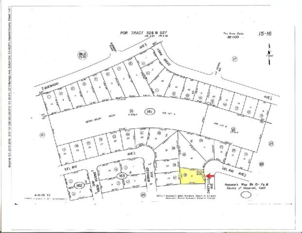 2221 Lot 9 -Castillo Avenue, Salton City, CA 92274 (MLS #218027200) :: Brad Schmett Real Estate Group