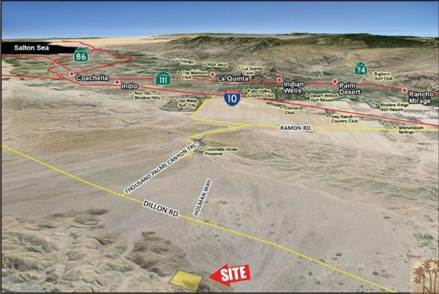 0 N Dillon Rd., Sky Valley, CA 92241 (MLS #218028796) :: Hacienda Group Inc