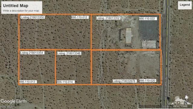 0 N North Indian Canyon Drive N, Desert Hot Springs, CA 92241 (MLS #218032878) :: Brad Schmett Real Estate Group