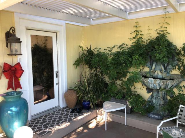 73450 Country Club Drive #19, Palm Desert, CA 92260 (MLS #218034044) :: The John Jay Group - Bennion Deville Homes