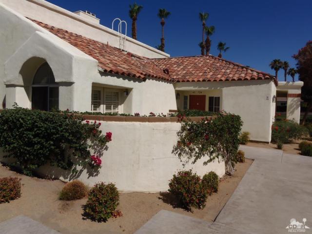 43724 Avenida Alicante 406-2, Palm Desert, CA 92260 (MLS #218034050) :: The John Jay Group - Bennion Deville Homes