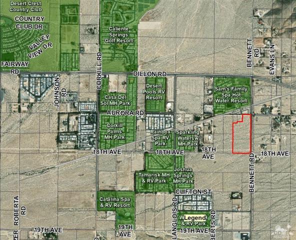 0 Bennett Road, Sky Valley, CA 92241 (MLS #218034320) :: Deirdre Coit and Associates