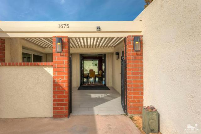1675 Wack Wack Plaza, Palm Springs, CA 92264 (MLS #218035896) :: The John Jay Group - Bennion Deville Homes