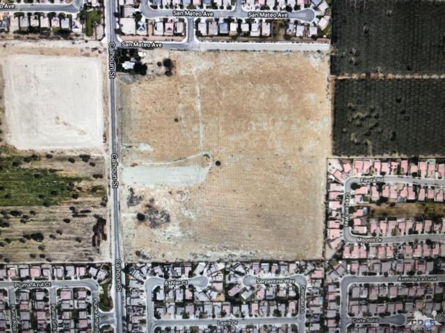 0 17.38 Acres Calhoun Street, Coachella, CA 92236 (MLS #219000561) :: The Jelmberg Team