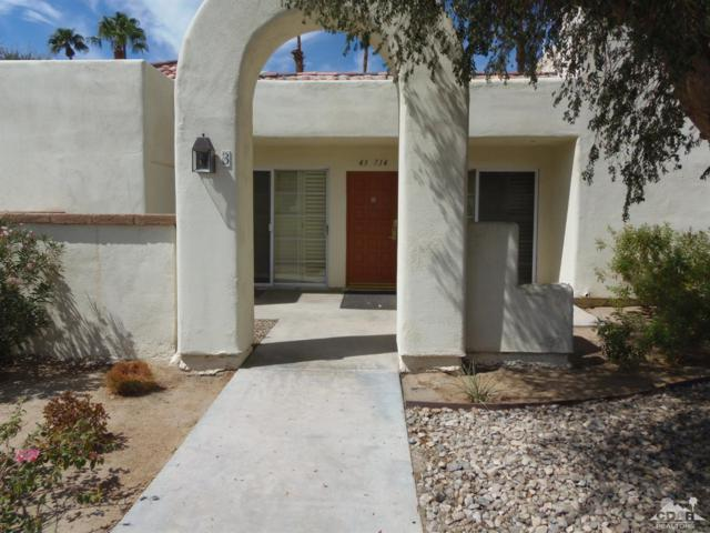 43714 Avenida Alicante 403-3, Palm Desert, CA 92211 (MLS #219001275) :: The John Jay Group - Bennion Deville Homes