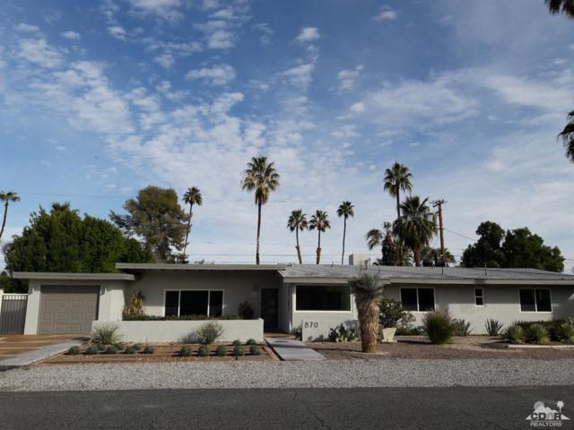 870 E San Lorenzo Road, Palm Springs, CA 92264 (MLS #219001555) :: Brad Schmett Real Estate Group
