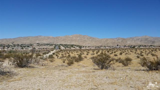 0 Mccarger Rd., Desert Hot Springs, CA 92240 (MLS #219001609) :: The John Jay Group - Bennion Deville Homes