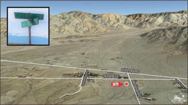 0 Hot Well Rd, Desert Hot Springs, CA 92241 (MLS #219003969) :: The John Jay Group - Bennion Deville Homes