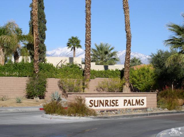 1495 N Sunflower Circle E #167, Palm Springs, CA 92262 (MLS #219004111) :: Brad Schmett Real Estate Group