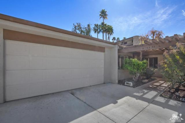 2343 Via Sonoma B, Palm Springs, CA 92264 (MLS #219005537) :: Hacienda Group Inc