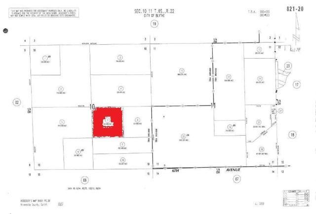 0 37 Acres, Blythe, CA 92225 (MLS #219007429) :: Deirdre Coit and Associates