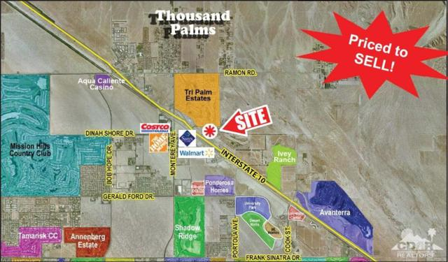 0 Boca Chica Trail, Thousand Palms, CA 92276 (MLS #219008347) :: Brad Schmett Real Estate Group