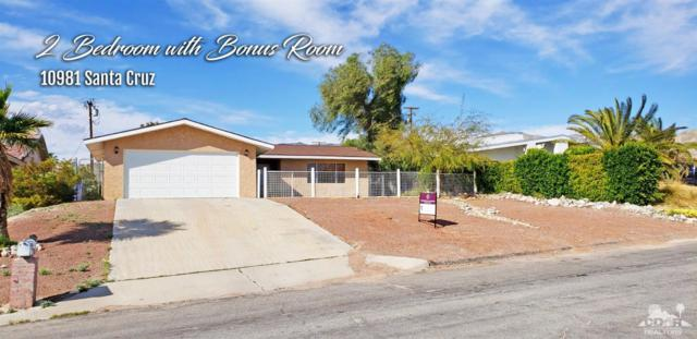 10981 Santa Cruz Road, Desert Hot Springs, CA 92240 (MLS #219008361) :: Deirdre Coit and Associates
