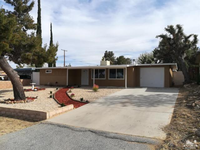 61513 Sunburst Drive, Joshua Tree, CA 92252 (MLS #219009455) :: The Jelmberg Team
