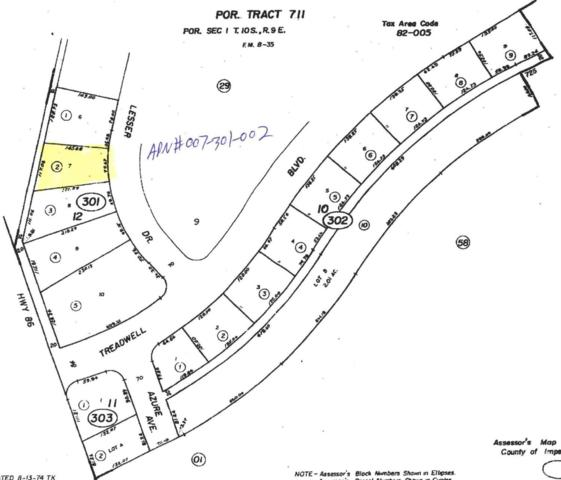 2721 Lessor Drive, Salton City, CA 92275 (MLS #219009907) :: The John Jay Group - Bennion Deville Homes