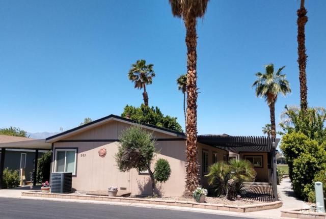 73450 Country Club Drive #263, Palm Desert, CA 92260 (MLS #219013541) :: The Sandi Phillips Team