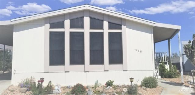 74711 Dillon Road #558, Desert Hot Springs, CA 92241 (MLS #219014987) :: Brad Schmett Real Estate Group