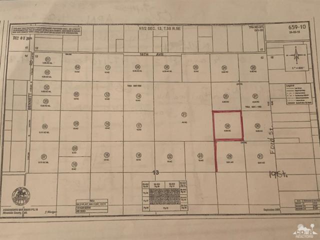 0 Ford Ave & 19th Ave, Desert Hot Springs, CA 92241 (MLS #219015153) :: Brad Schmett Real Estate Group