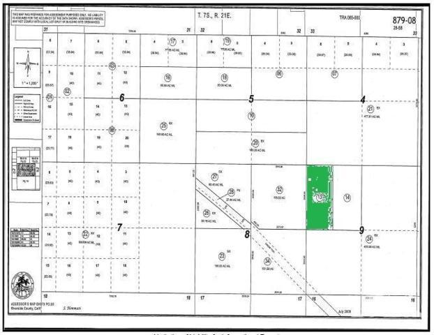 80 Acres, Blythe, CA 92225 (MLS #219016757) :: The John Jay Group - Bennion Deville Homes