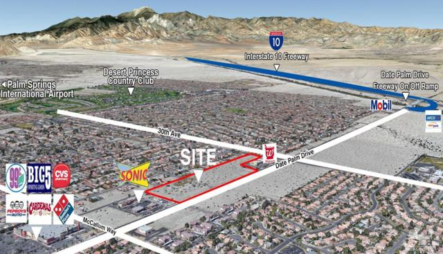 0 W Date Palm Dr & S 30th Ave, Cathedral City, CA 92234 (MLS #219017723) :: The Jelmberg Team
