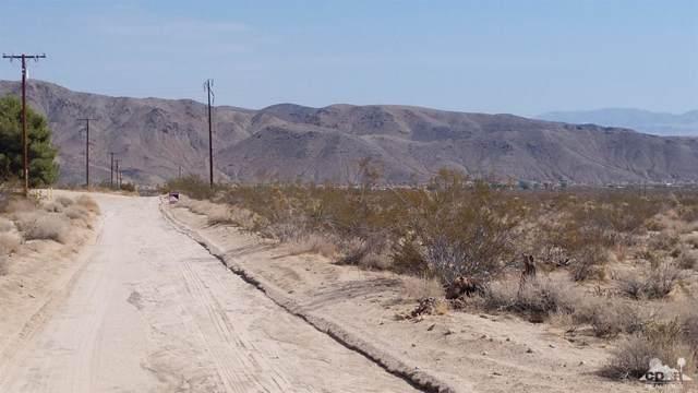 0 Que Pass Lane, 29 Palms, CA 92252 (MLS #219019223) :: Brad Schmett Real Estate Group