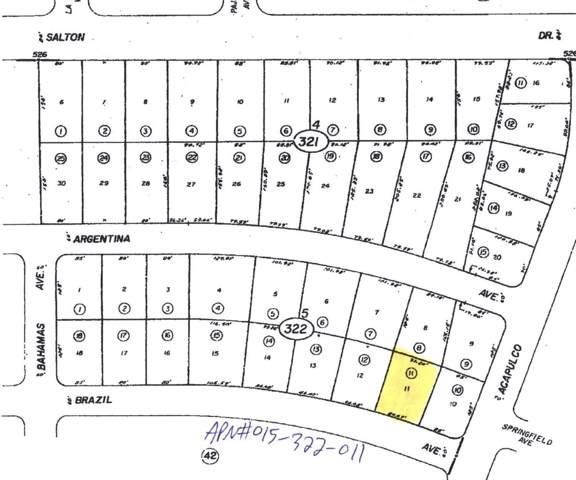 958 Brazil Avenue, Salton City, CA 92275 (MLS #219021277) :: Hacienda Group Inc