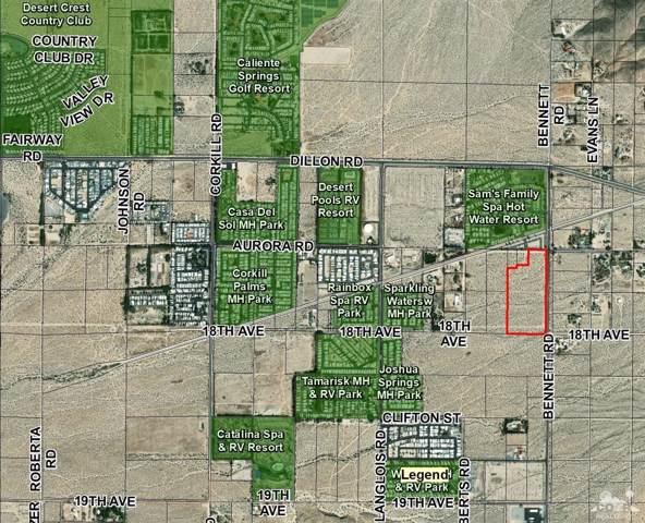 0 W Bennett Road, Sky Valley, CA 92241 (MLS #219021351) :: Hacienda Group Inc