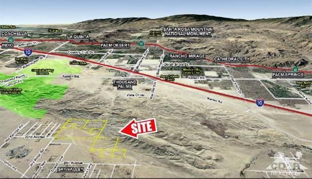 0 Dillon Rd, Sky Ridge, Sky Valley, CA 92241 (MLS #219021365) :: Hacienda Group Inc