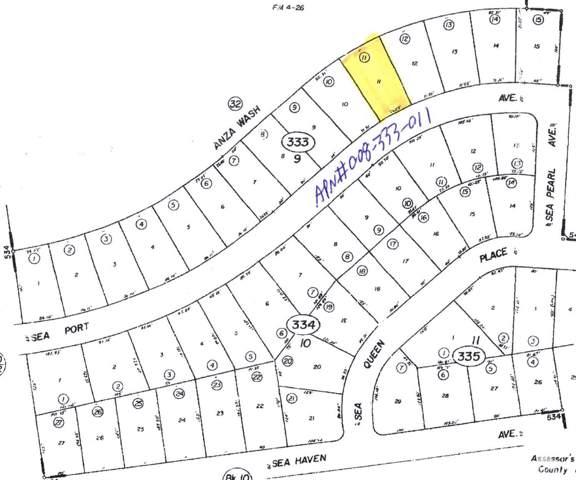 2617 Sea Port Avenue, Salton City, CA 92275 (MLS #219021541) :: Hacienda Group Inc