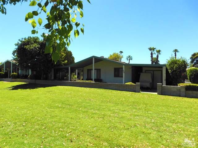 73450 Country Club Drive #149, Palm Desert, CA 92260 (MLS #219021545) :: Hacienda Group Inc