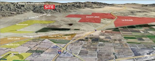 0 N Fargo Canyon Road N, Indio, CA 92201 (MLS #219022221) :: Brad Schmett Real Estate Group