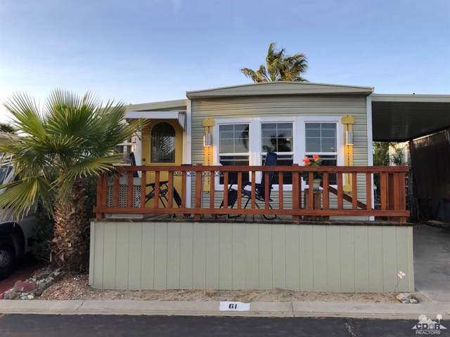 16400 Bubbling Wells Rd Road #61, Desert Hot Springs, CA 92240 (MLS #219022683) :: Brad Schmett Real Estate Group