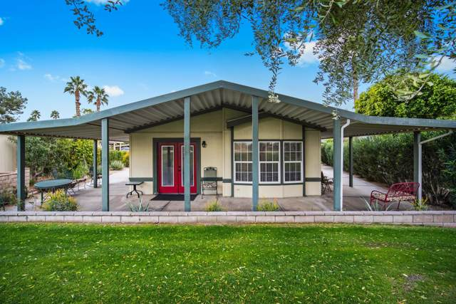 73450 Country Club Drive #157, Palm Desert, CA 92260 (MLS #219030026) :: The Jelmberg Team