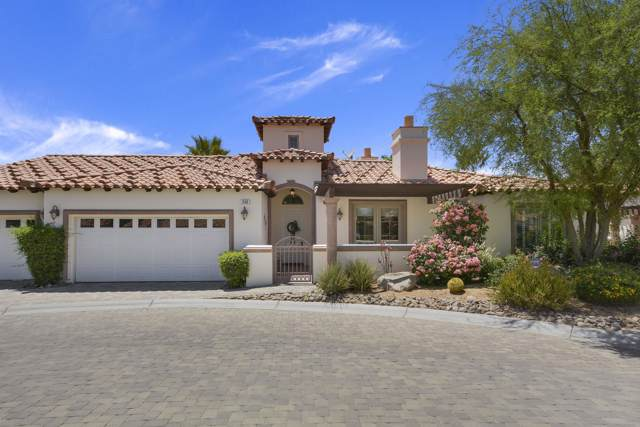 308 Piazza Roma, Palm Desert, CA 92260 (MLS #219030988) :: The Sandi Phillips Team