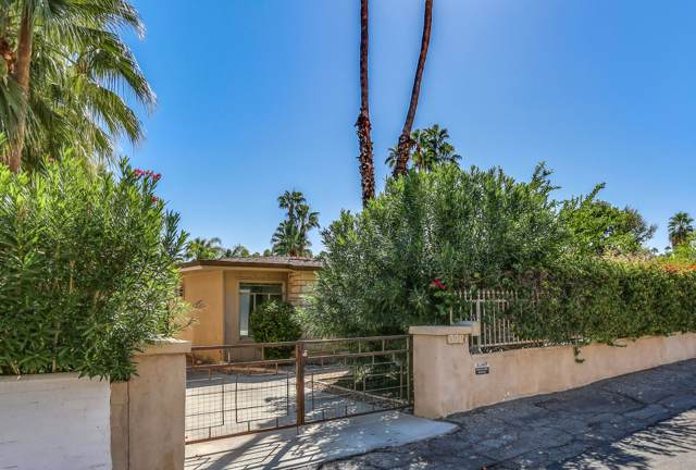 372 S Monte Vista Drive, Palm Springs, CA 92262 (MLS #219031210) :: The John Jay Group - Bennion Deville Homes