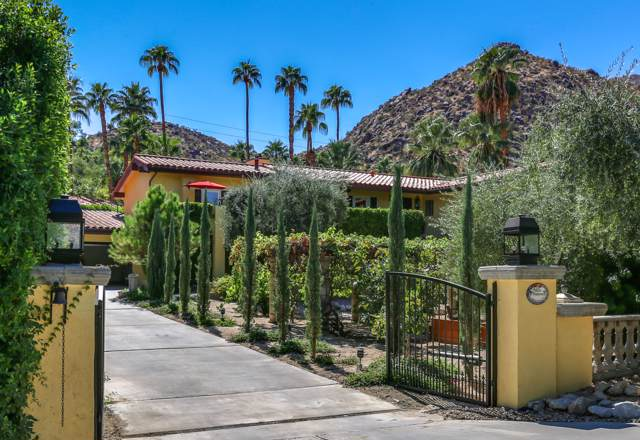 213 W Camino Descanso, Palm Springs, CA 92264 (MLS #219031548) :: Brad Schmett Real Estate Group