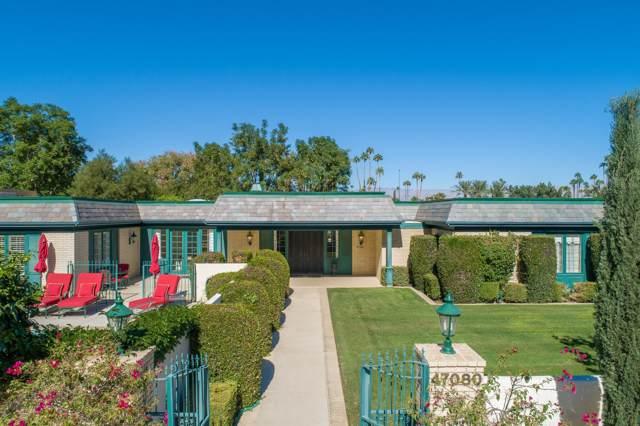 47080 W Eldorado Drive, Indian Wells, CA 92210 (MLS #219032429) :: The Jelmberg Team