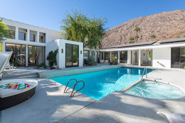 550 Santa Rosa Drive, Palm Springs, CA 92262 (MLS #219032661) :: The John Jay Group - Bennion Deville Homes