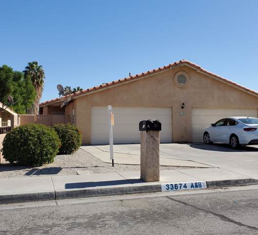 33674 Navajo Trail A & B, Cathedral City, CA 92234 (#219034028) :: The Pratt Group