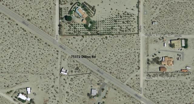 75372 Dillon Road, Desert Hot Springs, CA 92241 (MLS #219034263) :: The Sandi Phillips Team