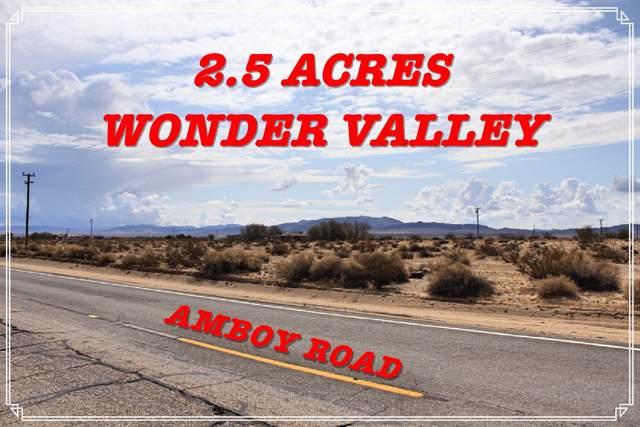 84888 Amboy Road, 29 Palms, CA 92277 (MLS #219034978) :: Mark Wise | Bennion Deville Homes