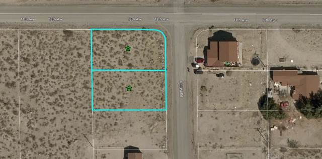 0 United Road, Desert Hot Springs, CA 92240 (MLS #219036849) :: The John Jay Group - Bennion Deville Homes